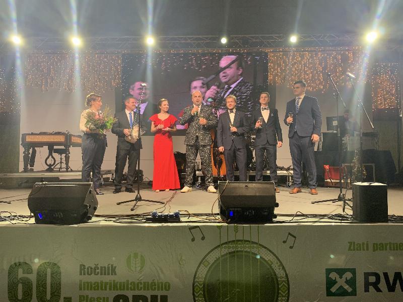 60.rokov imatrikulacneho plesu Slovenskej polnohospodarskej univerzity v Nitre. 30.novembra 2018