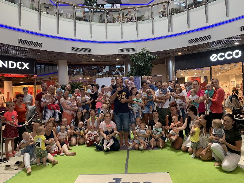 Preteky lezunov v Atrium Optima. 29.juna 2019 Košice