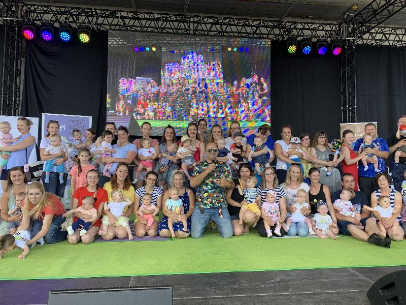 Prvy detsky festival a  preteky lezunov na Agrokomplexe. 21.juna 2019 Nitra